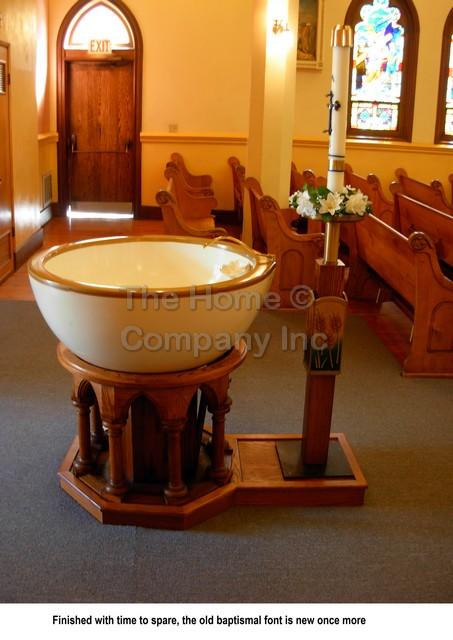 OLA Baptismal Font