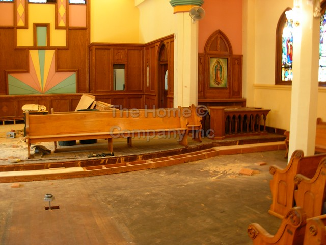 OLA Church Renovation